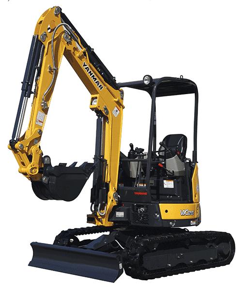 Mini Yanmar VIO27-5 Excavator Rental Newnan GA