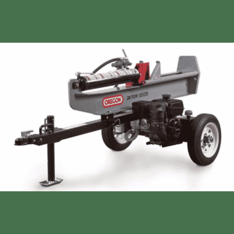 28 Ton Towable Log Splitter Rental Fayetteville GA
